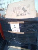Combined RRP £700 Pallet To Contain Household Appliances, Flatpacks, Assorted Shoes And Clothing