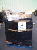 Combined RRP £800 Pallet To Contain Shelving, Kitchen Accessories, Rugs And Furniture