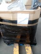 Combined RRP £800 Pallet To Contain Pillows Blinds Candle Floor Lights Airers