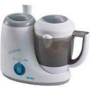 RRP £100 Boxed Beaba Babycook Original Baby Food Maker/Steam Cooker And Blender In One