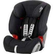 RRP £200 Unboxed Britax Romer Advansafix Iv R Baby Car Seat In Red And Black