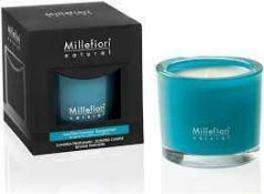 Combined RRP £165 Lot To Contain 11 Boxed Millefiori Natural Scented Candles In Assorted Scents