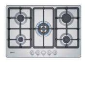 RRP £300 Boxed Neff T27Bb59N0 Gas Hob In Stainless Steel
