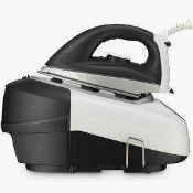 Combined RRP £145 Lot To Contain Boxed John Lewis Power Steam Generating Iron And 6L Slow Cooker