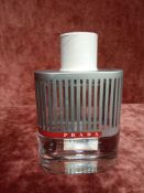 RRP £105 Unboxed 100Ml Tester Bottle Of Prada Luna Rossa Eau De Toilette Spray Ex-Display