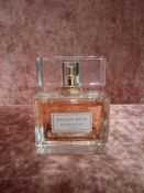 RRP £90 Unboxed 75Ml Tester Bottle Of Givenchy Dahlia Divin Eau De Toilette Spray Ex-Display