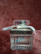 RRP £80 Unboxed 75Ml Tester Bottle Of Chloe For Her Eau Toilette Ex-Display