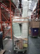 Combined RRP £600 Cage To Contain Lamps, Baby Accessories, Clothes, Blinds, Vacuum, Toys
