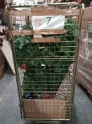Combined RRP £300 Cage To Contain Christmas Tree And Christmas Decorations