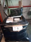 Combined RRP £500 Pallet To Contain Assorted Bins And Lamp