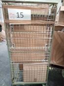 Combined RRP £700 Cage To Contain Lampshades, Shoes, Tote Bags, Phone Cases And Accessories