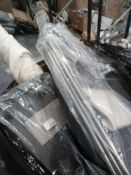 Combined RRP £1000 Pallet To Contain Bedding Airers Laundry Hampers Designer Fabric Bind And Lamps
