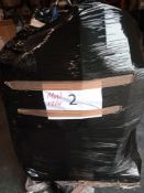 Combined RRP £900 Pallet To Contain Lampshades, Clothes, Pram, Bedding, Assorted Household Accessori