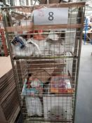 Combined RRP £350 Cage To Contain Toys, Lamps, Pans