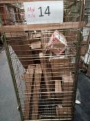 Combined RRP £600 Cage To Contain Cleaning Accessories, Contemporary Ornaments, Household Accessorie