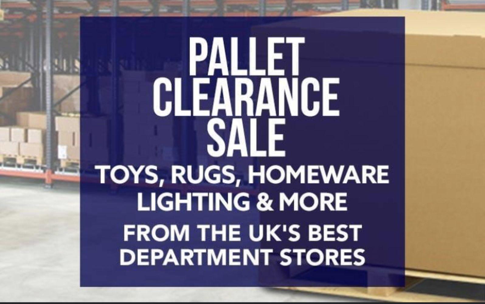No Reserve - Pallet Clearance Sale! 12th April 2021