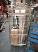Combined RRP £500 Cage To Contain Ladder, Blinds, Heater