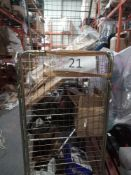 Combined RRP £500 Cage To Contain Part Lot Vacuums Baby Guard Baby Gate Irons And Bed Slats