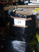 Combined RRP £700 Pallet To Contain Lights Shades Kitchenware And Rugs