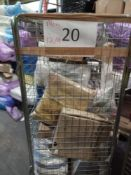 Combined RRP £500 Cage To Contain Frames Bedding Wall Paper