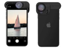 RRP £150 Lot To Contain 2 Brand New Boxed Olloclip Iphone 11 Elitepack Lens For Smartphone