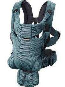 Combined RRP £200 Lot To Contain Boxed Babybjorn Baby Carrier Move Airy Mesh In Anthracite And Bagge