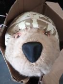 Combined RRP £300 Help For Heroes Army Bear Full Body Costume