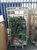 Combined RRP £400 Cage To Contain Christmas Tree And Christmas Decorations