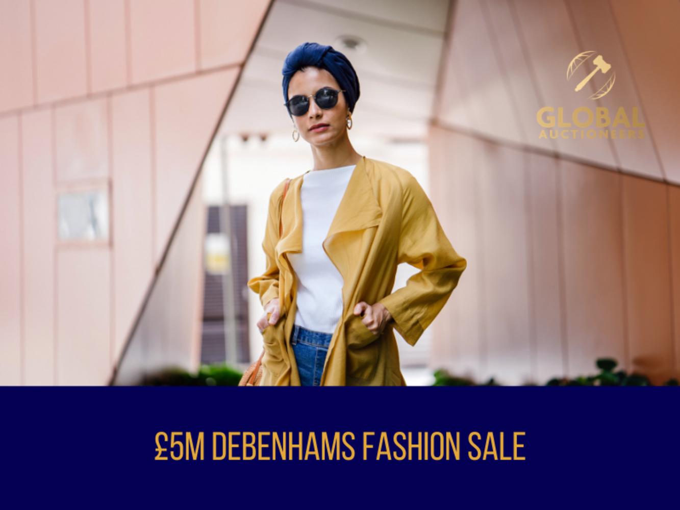 The £5m Debenhams Mega Fashion Sale - 16th April 2021