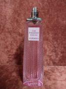 RRP £80 Unboxed 75 Ml Tester Bottle Of Givenchy Live Irresistible Blossom Crush Eau De Toilette Spra
