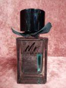 RRP £90 Boxed 100 Ml Tester Bottle Of Burbery Mr Burberry De Parfum Eau De Toilette Spray Ex-Display