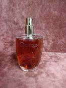 RRP £70 Unboxed 100 Ml Tester Bottle Of Calvin Klein Obsession Eau De Parfum Spray Ex-Display