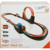 RRP £180 Boxed Hot Wheels Id Smart Track Kit