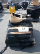 Combined RRP £600 Pallet To Contain Kitchenware, Footwear, Lamps, Frames, Cleaning Accessories, Stor