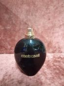 RRP £65 Unboxed 75Ml Tester Bottle Of Roberto Cavalli Nero Assoluto Eau De Parfum Spray Ex-Display