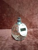 RRP £60 Unboxed 100Ml Tester Bottle Of Jimmy Choo Eau De Toilette Spray Ex-Display