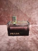 RRP £90 Unboxed 80 Ml Tester Bottle Of Prada L'Eau Ambree Eau De Parfum Spray Ex-Display