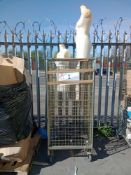 Combined RRP £400 Cage To Contain 3 Female Mannequins