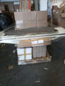 Combined RRP £900 Pallet To Contain Part Lot Furniture, Gin Glasses, Garden Furniture, Drawers, Bamb