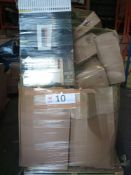Combined RRP £1000 Pallet To Contain Wallpaper, Handbag, Phone Cases, Electric Fireplace, Small Part