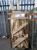 Combined RRP £300 Cage To Contain Treated Wood
