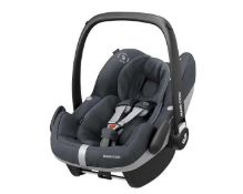 RRP £200 Unboxed Maxi Cosi Pebble Pro I Size Baby Car Seat In Essential Black