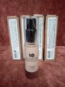 RRP £280 Gift Bag To Contain 8 Brand New Boxed Urban Decay Naked Skin Weightless Ultra Definition Li