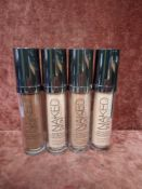 RRP £270 Gift Bag To Contain 9 30Ml Testers Of Urban Decay Naked Skin Weightless Ultra Definition Li