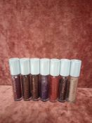 RRP £110 Gift Bag To Contain 7 Urban Decay Liquid Moondust Eyeshadow Testers In Assorted Shades Ex-D