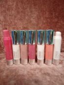 RRP £210 Gift Bag To Contain 7 Clinique Chubby In The Nude Foundation Stick Testers In Assorted Shad