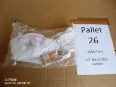 RRP £10,130 Pallet To Contain 527 Brand New Tagged Debenhams Fashion Items 18 X Wrangler Jeans 6 X
