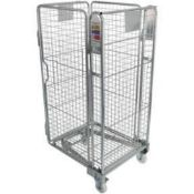 RRP £500 Nestable Roll Cage With 4 Mesh Sides (Appraisals Available On Request) (Pictures For
