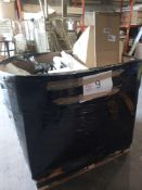 Combined RRP £700 Pallet To Contain Soft Furnishings, Bin, Airer, Part Lot Furniture, Miscellaneous
