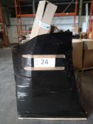 Combined RRP £1000 Pallet To Contain Air Friers, Stainless Steel Hose, Glitter Branch Tree, Steam Mo